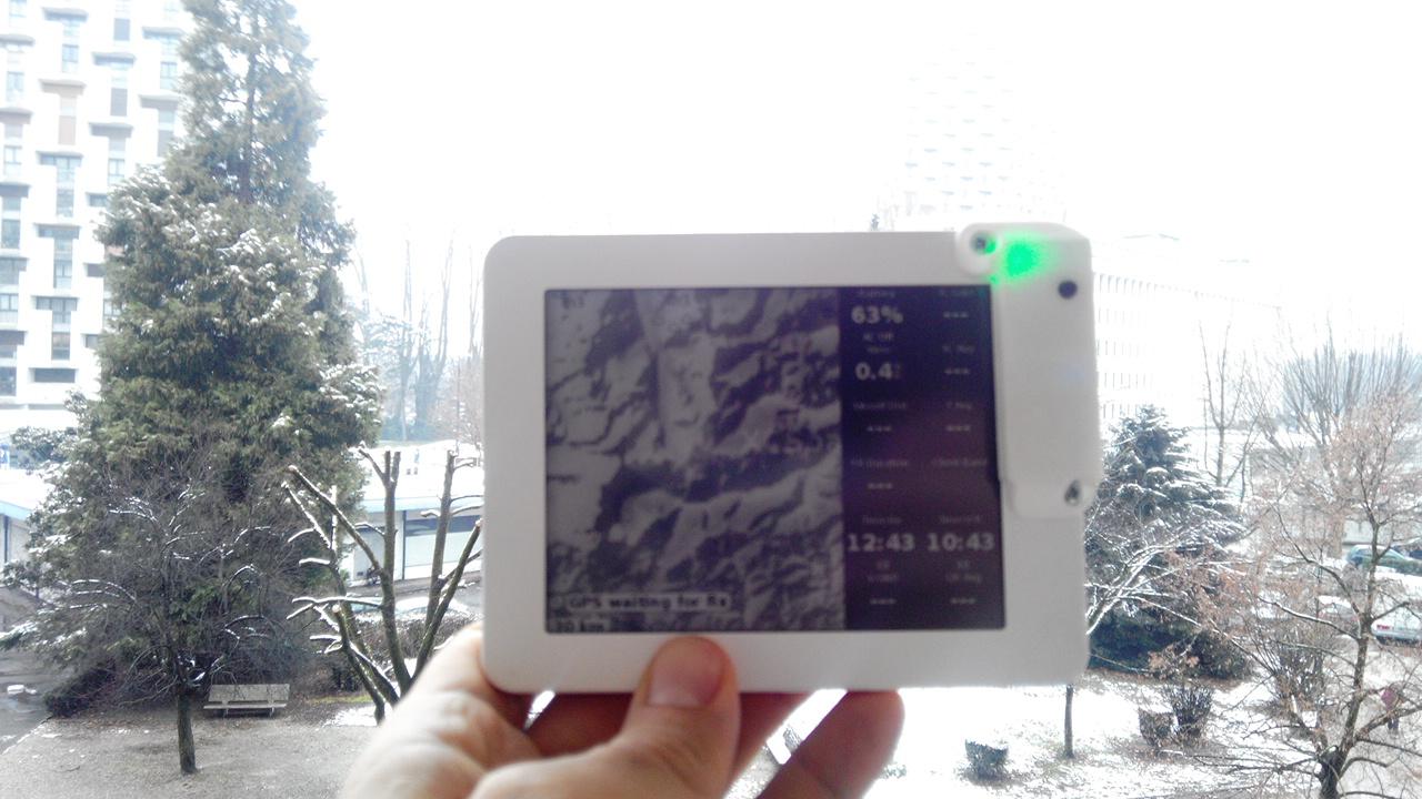 Kobo mini GPS mod with 3D printed case | DotMana